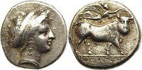 AR Didrachm 325-241 BC. Griechenland Campa...
