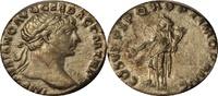 Denar 98-117 AD. Römische Kaiserzeit TRAJA...