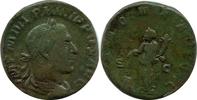 Æ Sestertius. AD. 247-549 Römische Kaiserz...