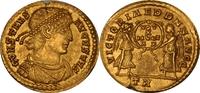 AV Solidus, AD.337-350 Römische Kaiserzeit...