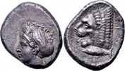 AR Tetradrachm 390-330 BC. Griechenland, M...