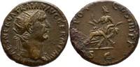 Dupondius 98-117 n.Ch Italien/Rom Traian 1...