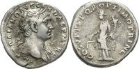 Denar 98-117 n.Ch Italien/Rom Traian 103-1...
