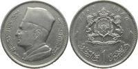 1 Dirham 1960/1380 Marokko Mohammed V. VZ  7,00 EUR  +  15,00 EUR shipping