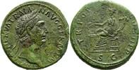Sesterze 98-117 n.Ch Italien/Rom Traian SS...