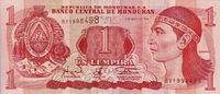 Honduras 1 Lempira LEMPIRA P.76