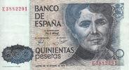 500 Pesetas 1979 Spain CASTRO P.157 vz