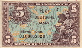 5  Deutsche Mark 1948 Germany Federal Rep....