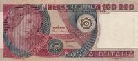100.000 Lire 1980 Italy WOMAN P.108b unz-  200,00 EUR  +  15,00 EUR shipping