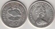 1979 Falkland Isl. 10 Pond  STEAMER DUCK ...