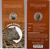 2008 Australia 1 Dollar WOMBAT coloured PACKACE KM.1071 st  22,50 EUR  +  5,00 EUR shipping