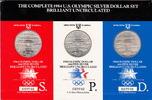 1983 U.S.A. 3 x 1 Dollar S-OLYMPIC 1984 STADIUM PACKACE KM.209SPD st  69,00 EUR  +  5,00 EUR shipping