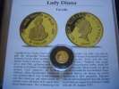 20 Dollars 1997 Tuvalu Lady Diana 1/25 Unze Gold  Proof  59,00 EUR  +  6,00 EUR shipping
