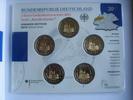 5 x 2 Euro 2011 BRD 5 x 2 Euro Nordrhein Westfalen 2011 Stgl. BU Folder  24,95 EUR  +  4,95 EUR shipping