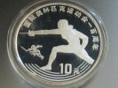10 Yuan 1993 China Olympia Fechten PP Proof  33,90 EUR  +  4,95 EUR shipping