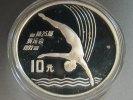 10 Yuan 1990 China Olympia Turmspringen PP Proof -  33,90 EUR  +  4,95 EUR shipping