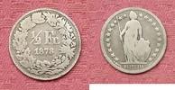 1/2 Franken 1878 Schweiz 1/2 Franken 1878.Seltenes Jahr. s-ss  39,95 EUR  +  4,95 EUR shipping