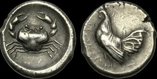 GREEK GR-QFUB - SICILY - Himera, AR Didrachm, ca.483-471BC.