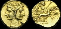 Shekel ca.215-205B ITALY ITALY - BRUTTIUM,...