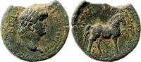 AE 20  Roman Provincial Aiolis, Kyme. Nero...