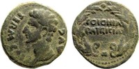 AE 27  Roman Provincial Spain, Colonia Pat...