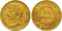 20 Franken Gold 1809  J Westfalen, Königre...
