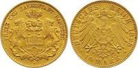 10 Mark Gold 1898  J Hamburg  Sehr schön -...