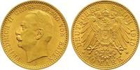 10 Mark Gold 1910  G Baden Friedrich II. 1...