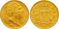20 Francs Gold 1819  W Frankreich Ludwig X...