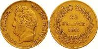 40 Francs Gold 1833  A Frankreich Louis Ph...