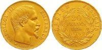 20 Francs Gold 1856  A Frankreich Napoleon...