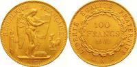 100 Francs Gold 1904  A Frankreich Dritte ...