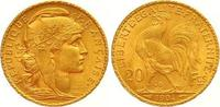 20 Francs Gold 1904  A Frankreich Dritte R...
