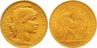 20 Francs Gold 1908  A Frankreich Dritte R...