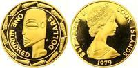 100 Dollars Gold 1979 Cook Islands Elizabe...