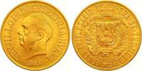30 Pesos Gold 1955 Dominikanische Republik...