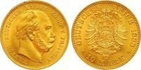 10 Mark Gold 1888  A Preußen Wilhelm I. 18...