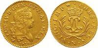 Louis d or Mirliton Gold 1724  N Frankreic...