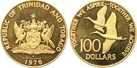 100 Dollars Gold 1976 Trinidad und Tobago  Polierte Platte  255,00 EUR  +  7,00 EUR shipping
