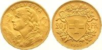 20 Franken Gold 1930  B Schweiz-Eidgenossenschaft  Vorzüglich - Stempel... 275,00 EUR  +  7,00 EUR shipping
