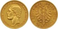 20 Mark Gold 1874  A Mecklenburg-Strelitz Friedrich Wilhelm 1860-1904. ... 7850,00 EUR free shipping
