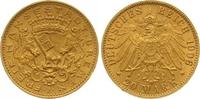 20 Mark Gold 1906  J Bremen  Winziger Randfehler, vorzüglich  2450,00 EUR free shipping
