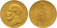 20 Mark Gold 1875  A Braunschweig Wilhelm 1830-1884. Sehr schön - vorzü... 1450,00 EUR free shipping