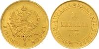 10 Markkaa Gold 1879  S Finnland Alexander II. von Russland 1855-1881. ... 375,00 EUR  +  7,00 EUR shipping