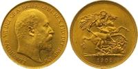 Five Pounds Gold 1902 Großbritannien Edward VII. 1901-1910. Winziger Ra... 3250,00 EUR free shipping