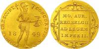 Niederländischer Dukat 1 Gold 1849 Russland Nikolaus I. 1825-1855. Fast... 675,00 EUR  +  7,00 EUR shipping
