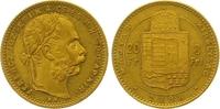 8 Gulden = 20 Francs Gold 1888  KB Haus Habsburg Franz Joseph I. 1848-1... 345,00 EUR  +  7,00 EUR shipping