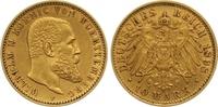 10 Mark Gold 1898  F Württemberg Wilhelm II. 1891-1918. Sehr schön - vo... 265,00 EUR  +  7,00 EUR shipping