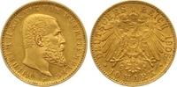 10 Mark Gold 1905  F Württemberg Wilhelm II. 1891-1918. Winziger Randfe... 265,00 EUR  +  7,00 EUR shipping
