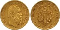 10 Mark Gold 1880  F Württemberg Karl 1864-1891. Winziger Randfehler, s... 225,00 EUR  +  7,00 EUR shipping